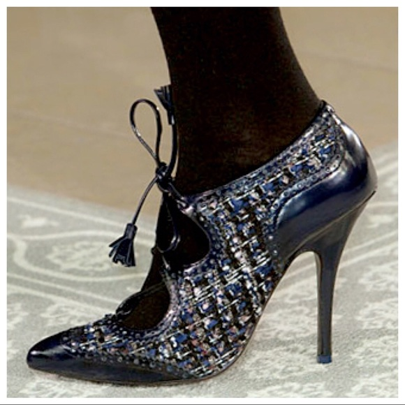 Tory Burch Tweed Brogue Pumps outlet the cheapest ebay for sale cheap choice clearance cheapest price 9fK7EU